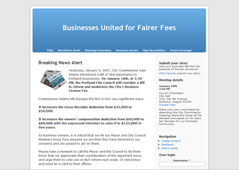 Fairer Fees screenshot