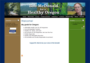 Bob McDonald for a Healthy Oregon