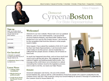 Cyreena Boston for HD 45