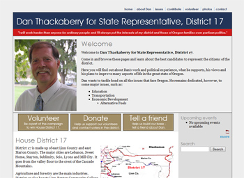 Dan Thackaberry for State Representative