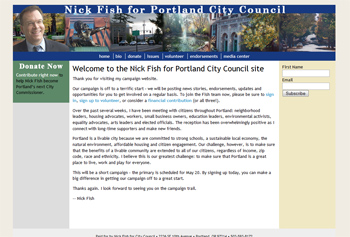 Nick Fish for Portland City Council