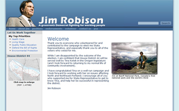 Jim Robison for State Leg screenshot